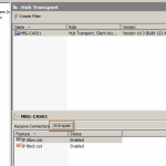Configure Anti-Spam Agents in Exchange 2010