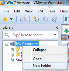 Create Team in Vmware Workstation 8