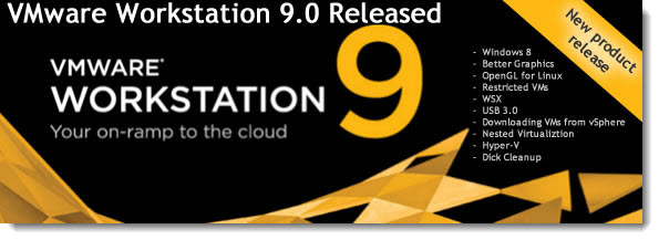 Features of VMware Workstation 9