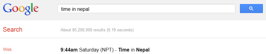 Time in Nepal