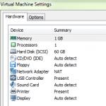 VMware Workstation Freezes