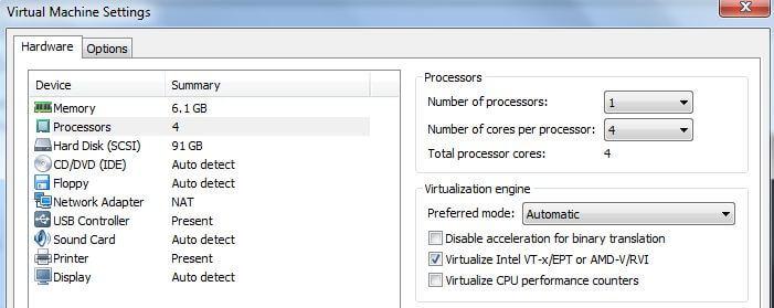 Intel VT