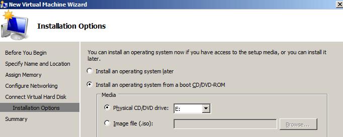 install boot media