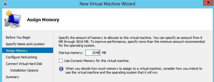 Configure Memory