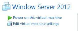 Edit VM Settings