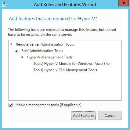 Additional Features for Hyper V