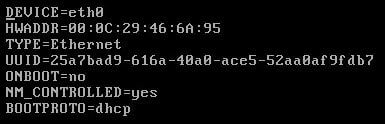 Configure Static IP Address in CentOS