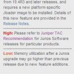JUNOS Software Naming Convention