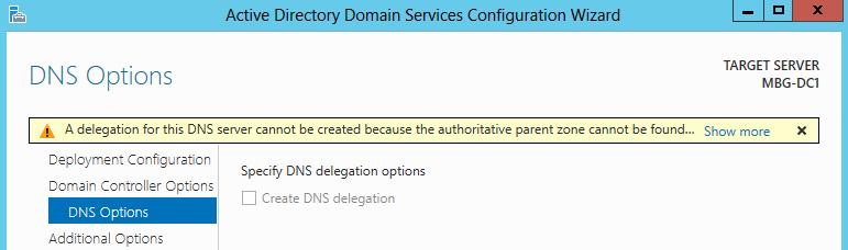 DNS Delegation