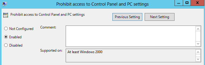 Understanding GPO in Windows Server 2012