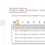 Configure Email Forwarding in Exchange 2013 Outlook Web Access