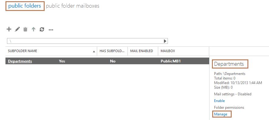 Assign Folder Permission