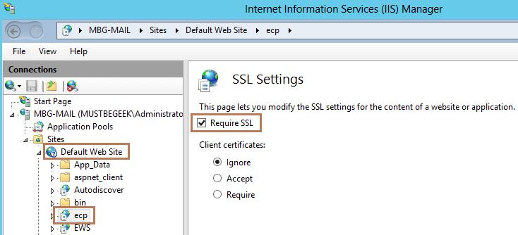 ECP SSL