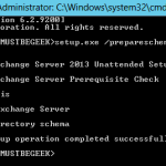Install Exchange Cumulative Update 2 in Exchange Server 2013