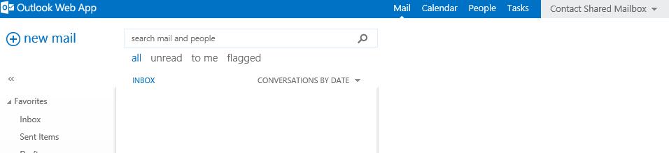 Shared Mailbox Opened