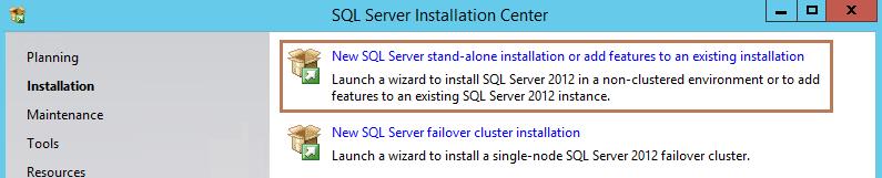 SQL Installer