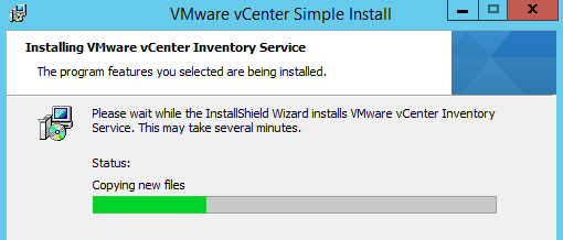 vCenter Inventory Service