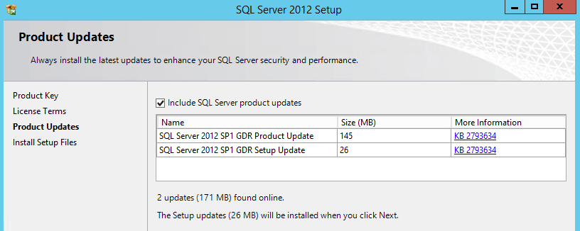 Install SQL Server 2012 in Windows Server 2012 R2
