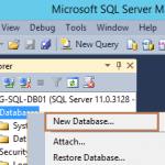 Create ODBC Database Connection in vCenter Server