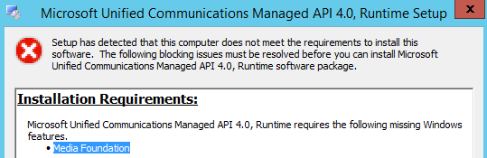 Install Exchange Server 2013 SP1 in Windows Server 2012 R2