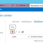Configure DAG in Exchange 2013