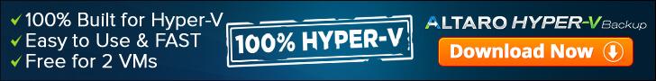 Altaro Hyper V Backup