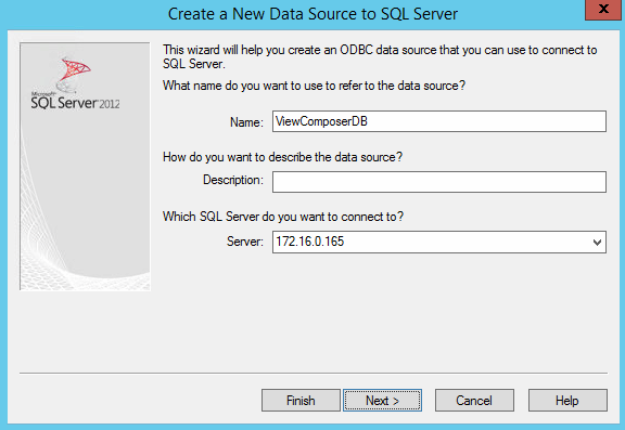 New Source Server IP Address