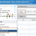 Deploy Linked Clone Virtual Desktop in VMware Horizon 6