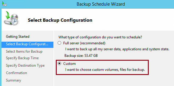 Backup Exchange 2016 With Windows Server Backup