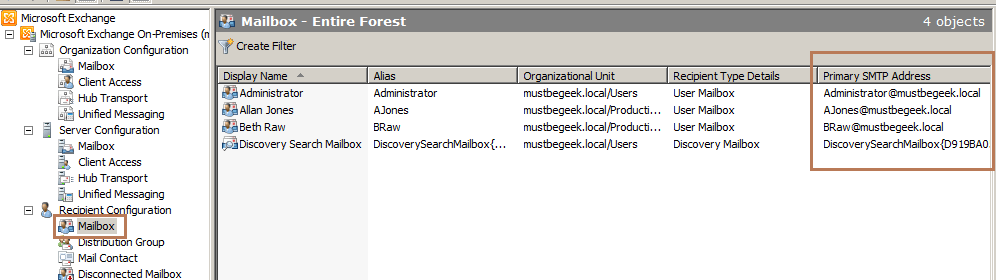 Setup Exchange 2010 Mail Flow in .local AD Domain