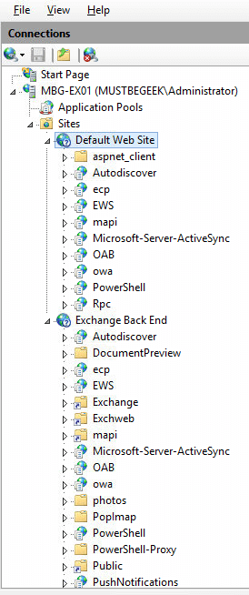Configure External and Internal URL in Exchange 2016