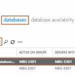 Delete Default Mailbox Database in Exchange 2016