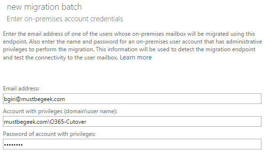 migration credential