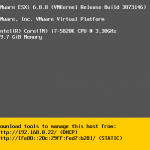 Install and Configure VMware ESXi 6.0