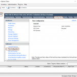 Configure Time Synchronization in vSphere 6