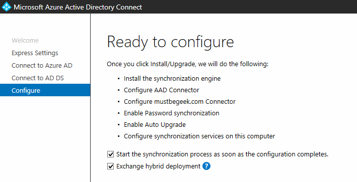 Ready to Configure