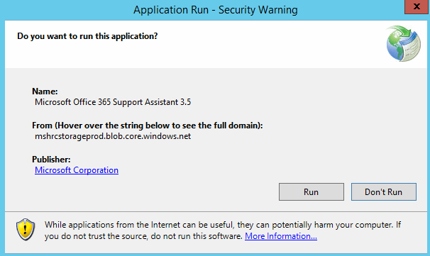 Run Application