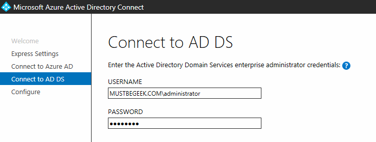 connect to ad ds