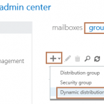 Create Dynamic Distribution Group in Exchange 2016