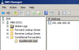 conditional-forwarder