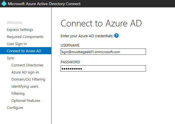 Setup Azure AD Connect to Synchronize Multiple Active
