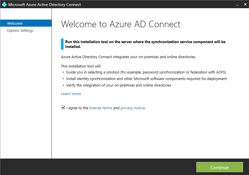 Setup Azure AD Connect to Synchronize Multiple Active Directory Forests