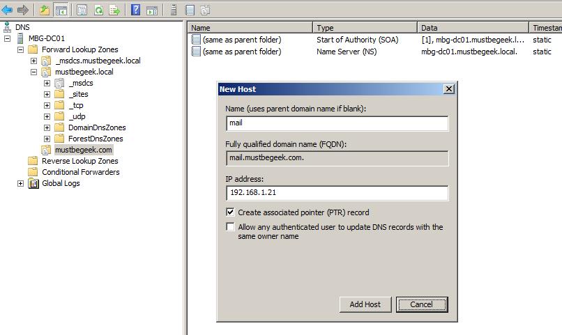Configure External and Internal URL in Exchange 2010MustBeGeek