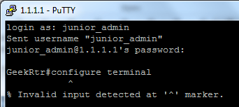 Managing User Accounts and Password in Cisco IOS Devices