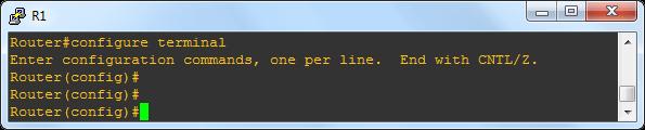 Understanding Cisco IOS Command Line Modes - Global Configuration