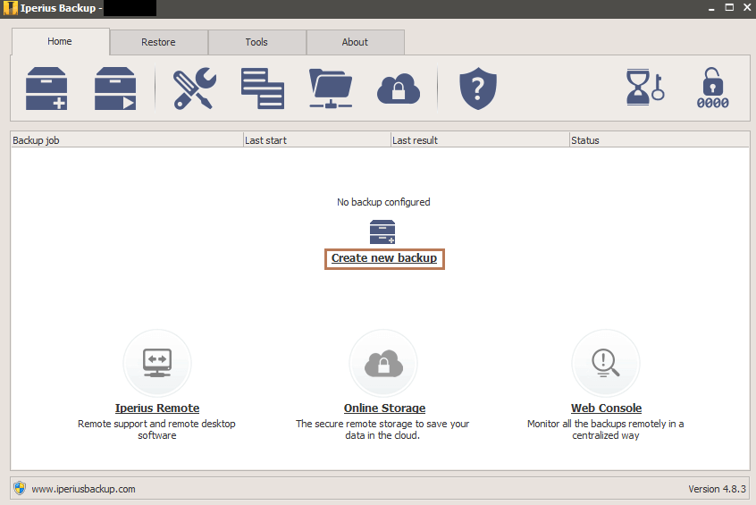 Backup Exchange Mailboxes to PST with Iperius Backup