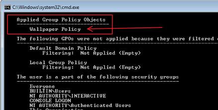 Change Windows Desktop Background Using Group Polic