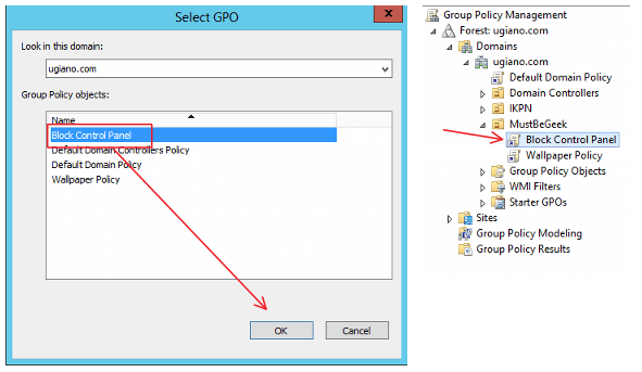 Disable Control Panel Access using Group Policy on Windows