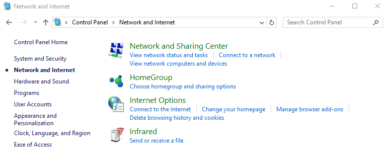 Hide Control Panel Items using Group Policy - 5a