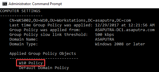 Applying WMI Filter to Group Policy - 3